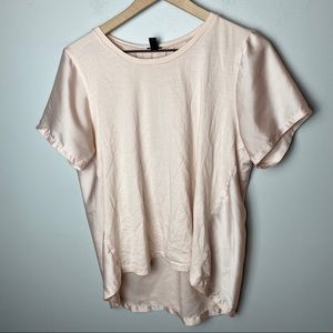 J. Crew Silky Cotton Tshirt Fancy